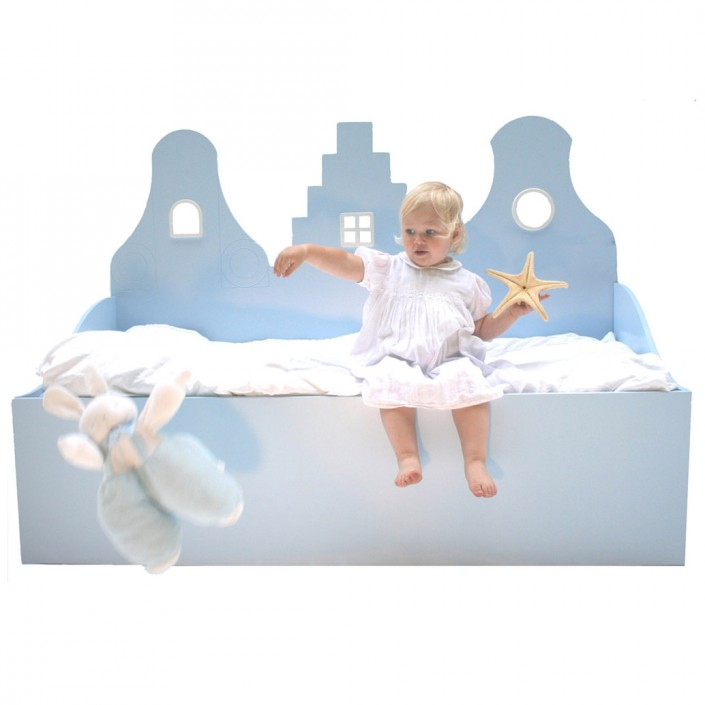 Łóżko dziecięce Sofabed Sparkling 150 70 cm Kast van een Huis