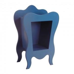 Niebieski stoliczek nocny VOLUTE Mathy by Bols