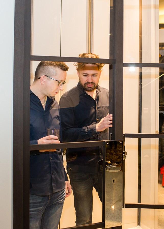 Polscy architekci wnętrz w salonie Wirchomski