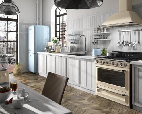 Klasyka w kuchni Smeg