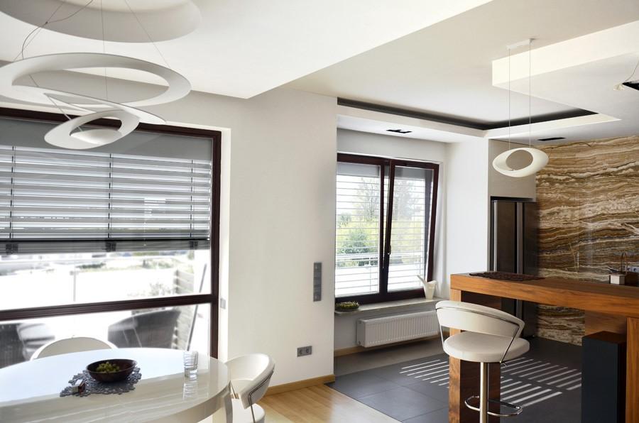 Inspirujące aranżacje salonów w różnych stylach  Architektura, wnętrza, tech