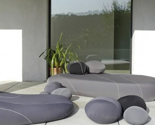 Oryginalne meble ogrodowe w nowoczesnym stylu Smarin co-living