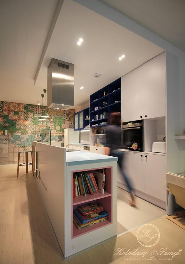 Otwarta kuchnia w oryginalnej formie  Architektura, wnętrza, technologia, de   -> Kuchnia Pol Otwarta