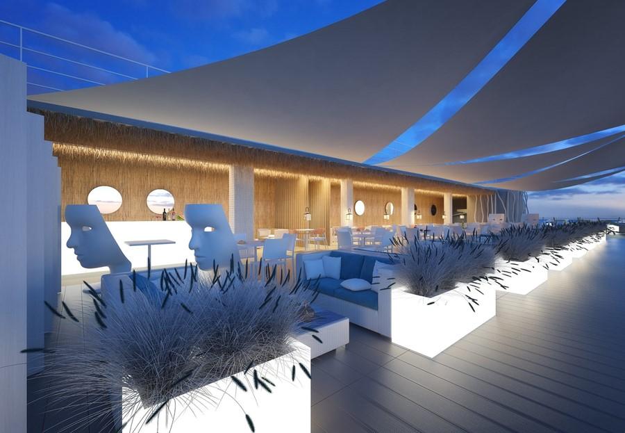 Projekt nadmorskiej restauracji Concpet