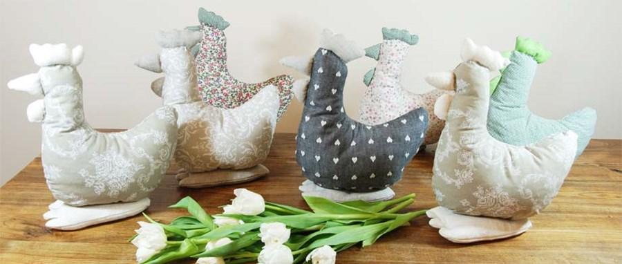 Ręcznie robione dekoracje na Wielkanoc
