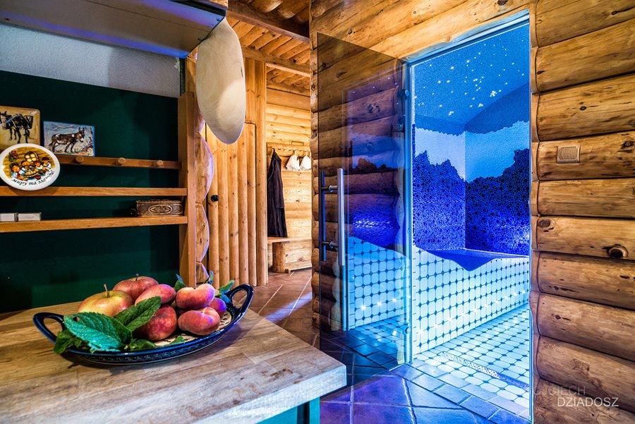Zalety sauny we wnętrzu