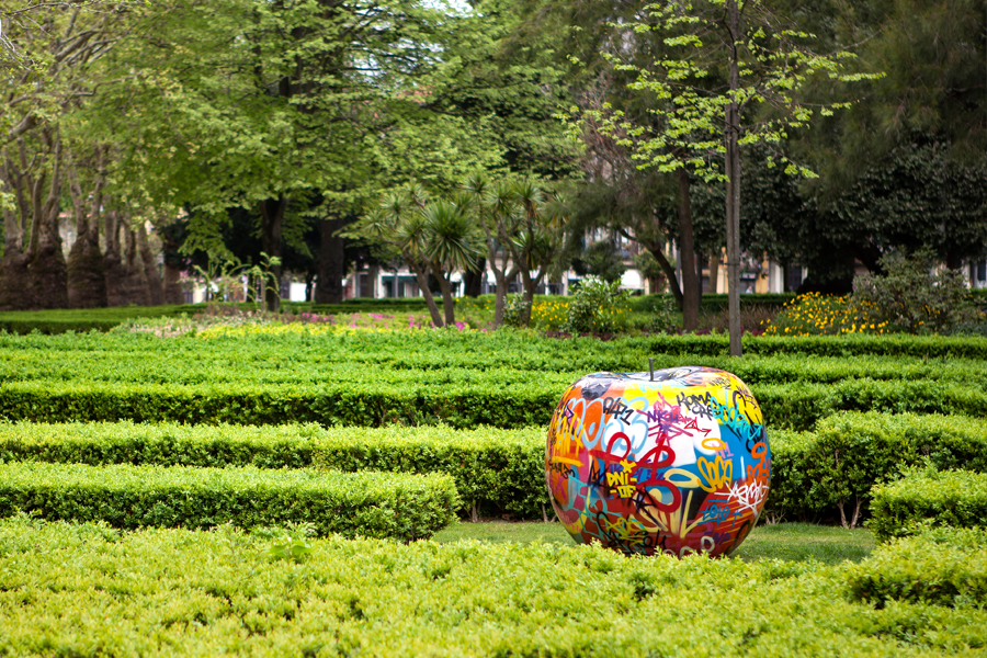 Bull and Stein rzeźby - nowoczesne ogrody
