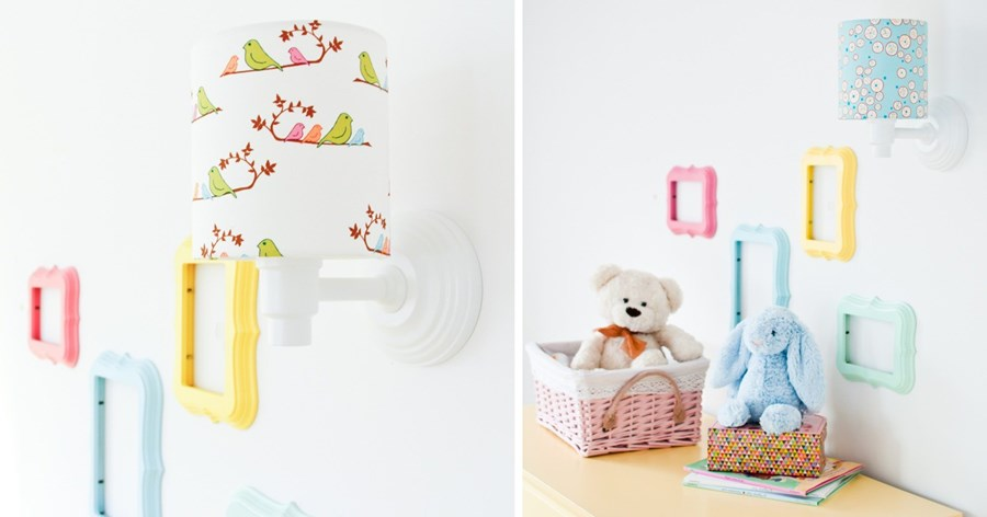 Oryginalne oświetlenie w pokoju dziecka