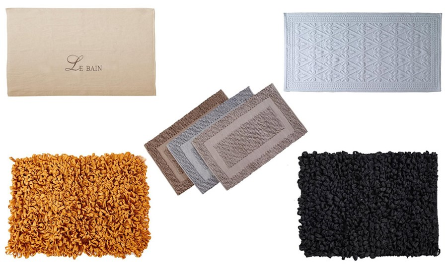 Dodatki łazienkowe - tekstylia