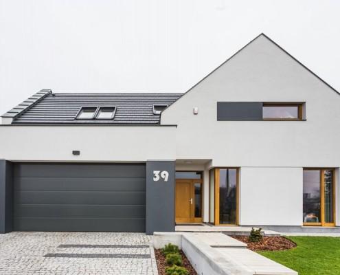 Minimalistyczny dom jednorodzinny 3deko