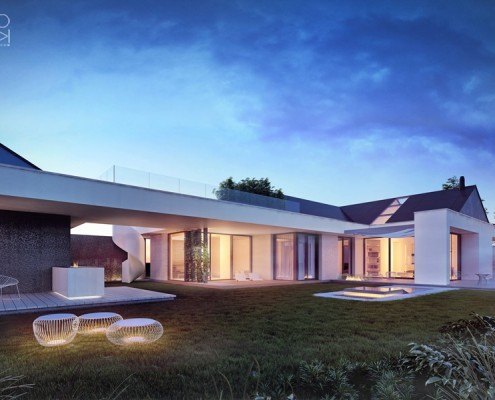 Nowoczesne projekty domów jednorodzinnych - inspiracje
