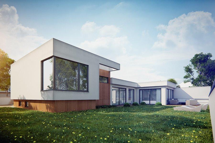 nowoczesne projekty dom w jednorodzinnych dlaczego warto je wybra artyku y homesquare. Black Bedroom Furniture Sets. Home Design Ideas