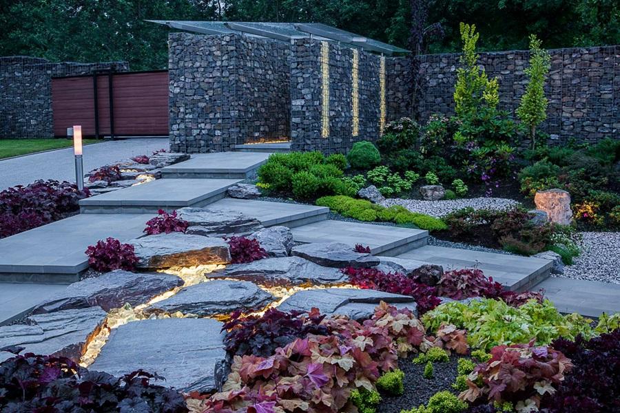 Wyjątkowe nowoczesne ogrody - nowoczesny ogród