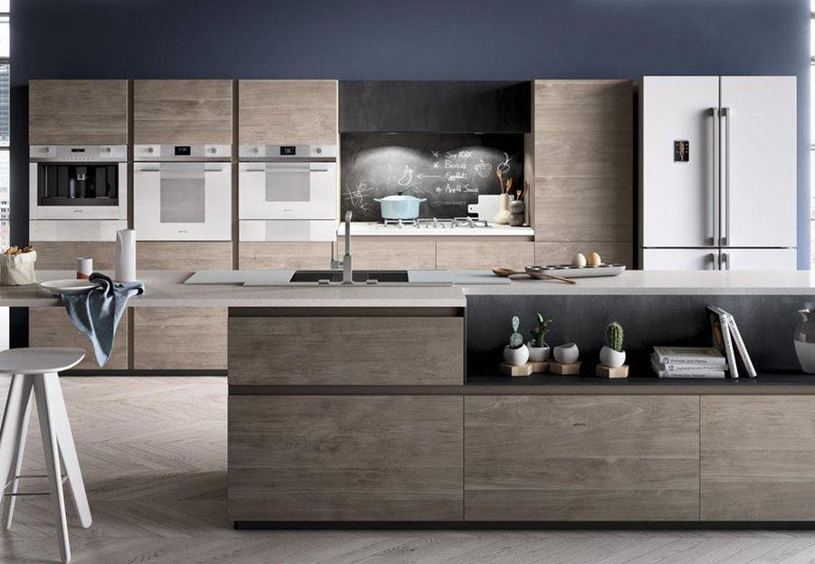 Otwarta kuchnia w lofcie  Architektura, wnętrza, technologia, design  HomeS   -> Kuchnia Pol Otwarta