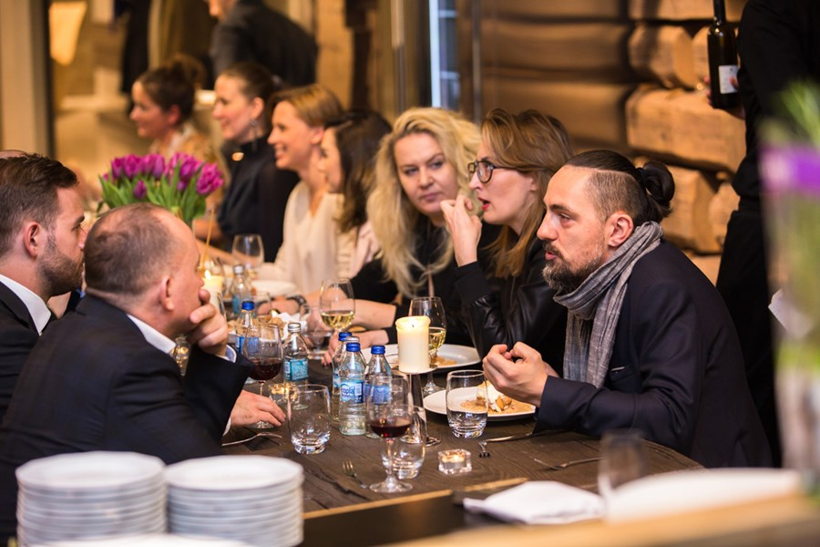 Architekci wnętrz - spotkanie w salonie Wirchomski
