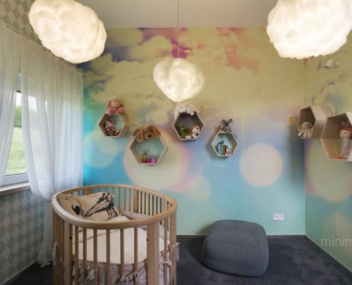 Baśniowy pokój dla niemowlaka Minimoo