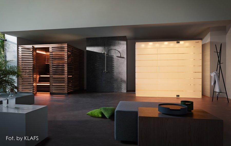 Dwie sauny w domowym SPA- pokoje kąpielowe