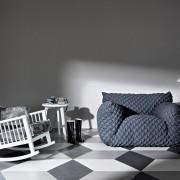 Luksusowy fotel bujany