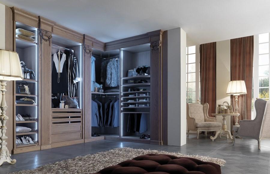 Pomysł na garderobę w sypialni