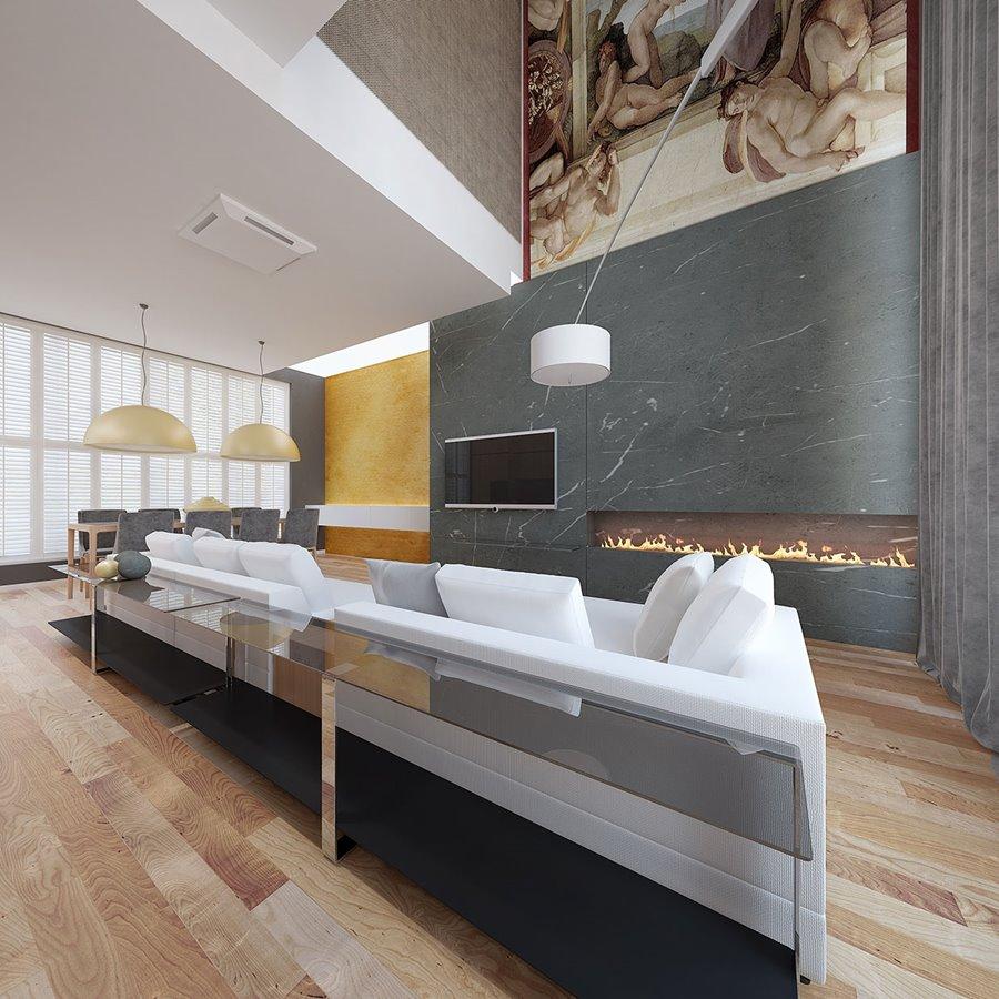 Otwarta kuchnia w bieli hola design homesquare - Otwarta