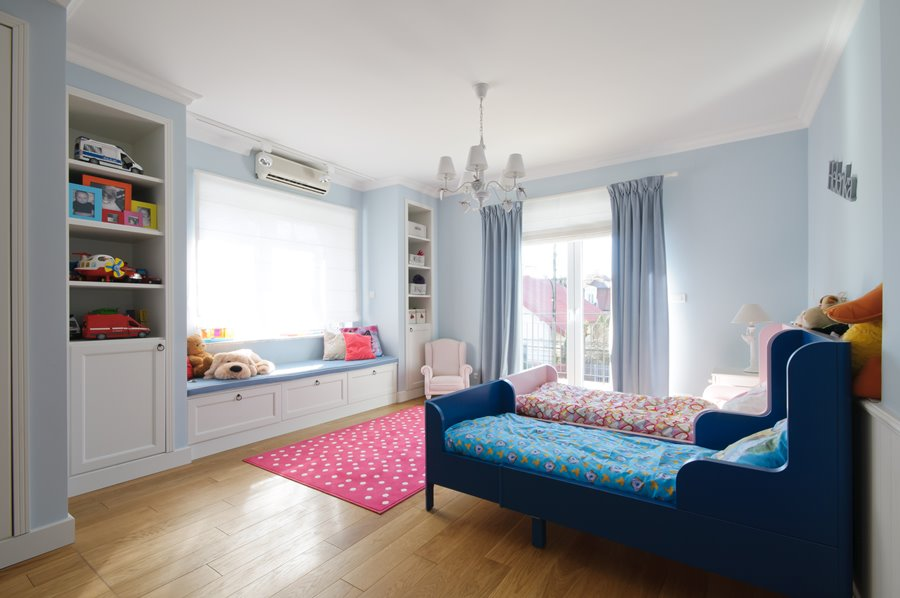 Pokój dziecięcy dla bliźniaków - pokoje dla dzieci