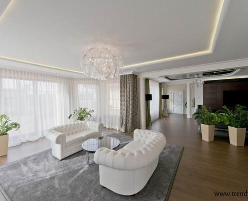Pokój gościnny w stylu modern classic APP trendy