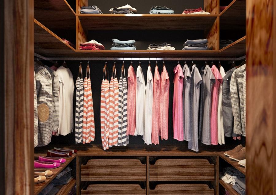 Oryginalny pomysł na garderobę