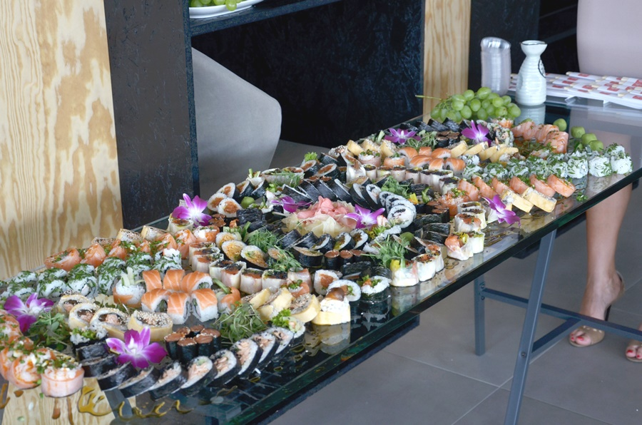 Otwarcie showroomu Wczasowa 10 - Oto Sushi