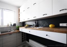 Farba tablicowa w kuchni Pracownia projektowa PE2
