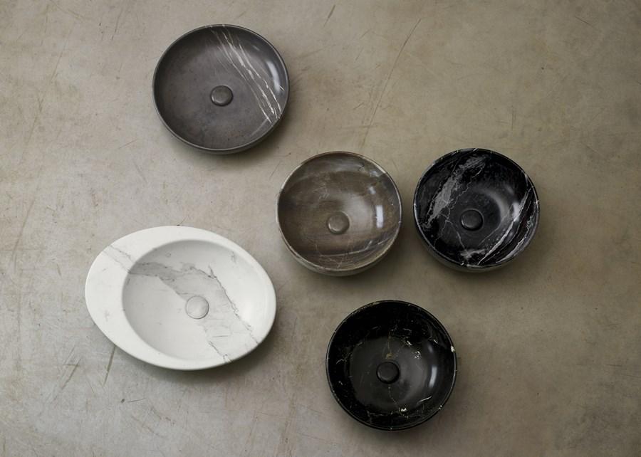 Umywalki łazienkowe z kamienia