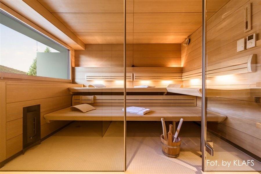 Nowoczesna sauna zewnętrzna
