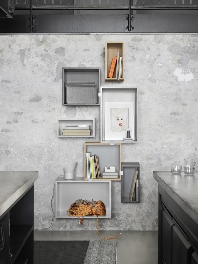 Półki w nowoczesnym stylu