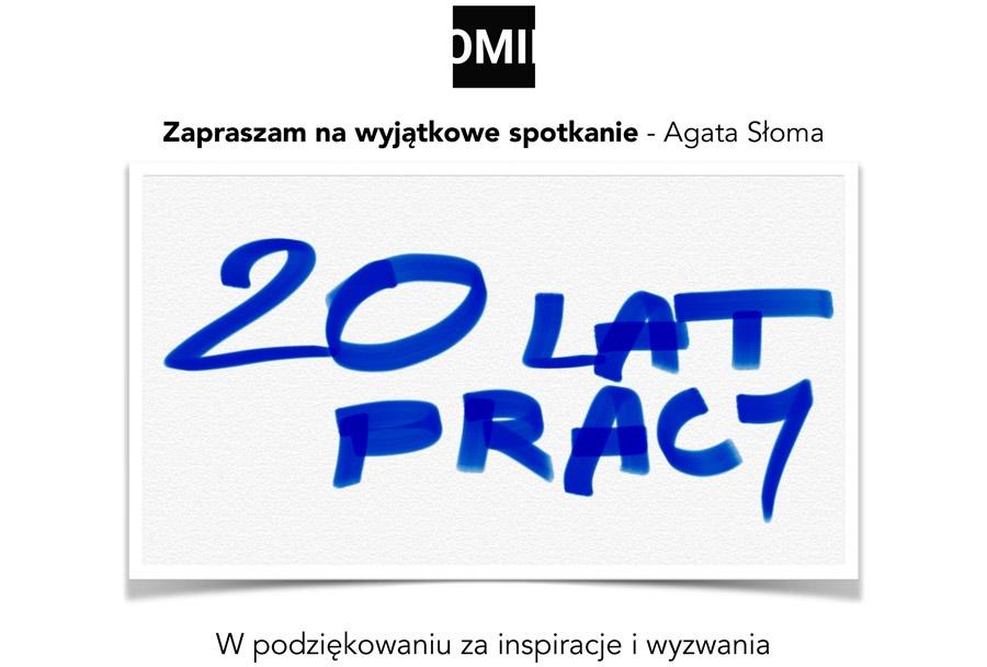 Jubileusz pracy zawodowej - projektantka wnętrz - Agata Słoma
