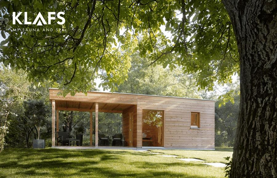 sauna zewn trzna jak wybra saun do ogrodu artyku y homesquare. Black Bedroom Furniture Sets. Home Design Ideas