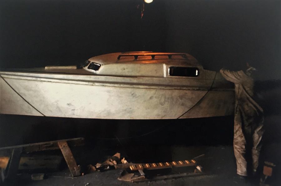 łódź Romana Modzelewskiego - etap budowy