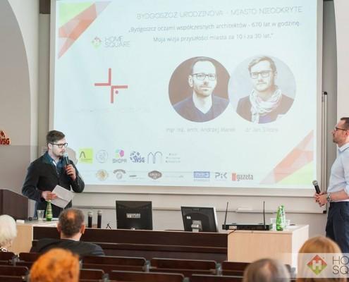 konferencja Bydgoszcz za 10 i za 30 lat - wizja architektów i środowisk akademickich