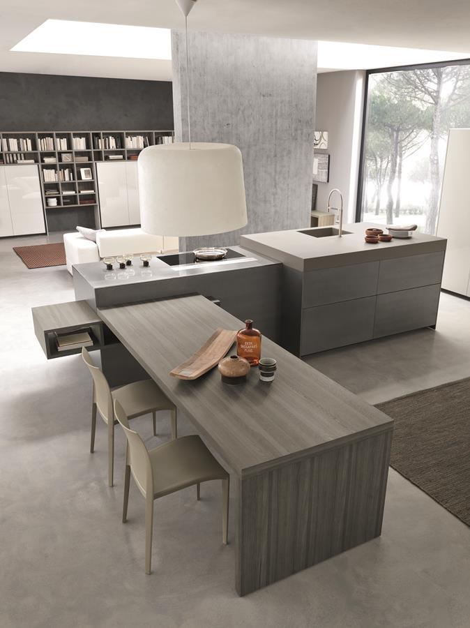 Elegancka wyspa w kuchni