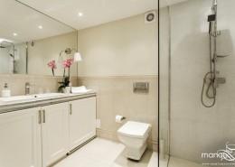 Mała łazienka w stylu modern classic Mango Studio