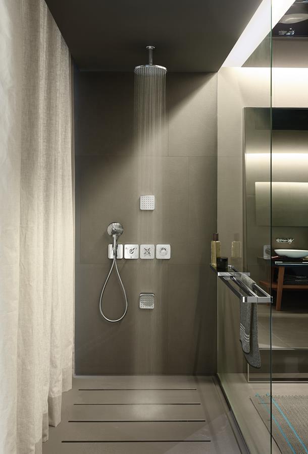 Nowoczesne prysznice Axor Hansgrohe