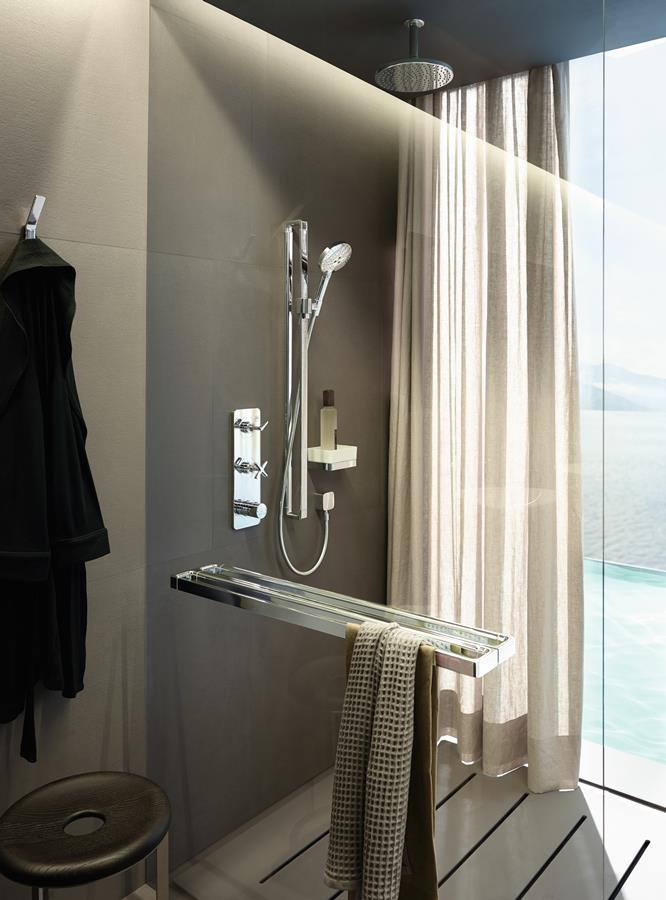Nowoczesne prysznice w ekskluzywnym wydanu