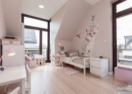 Pastelowy róż w pokojach dla dziewczynek Mango Studio
