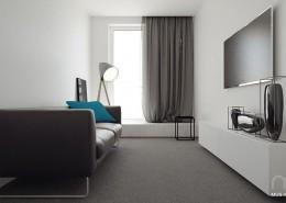 Projekt pokoju telewizyjnego Mus Architects
