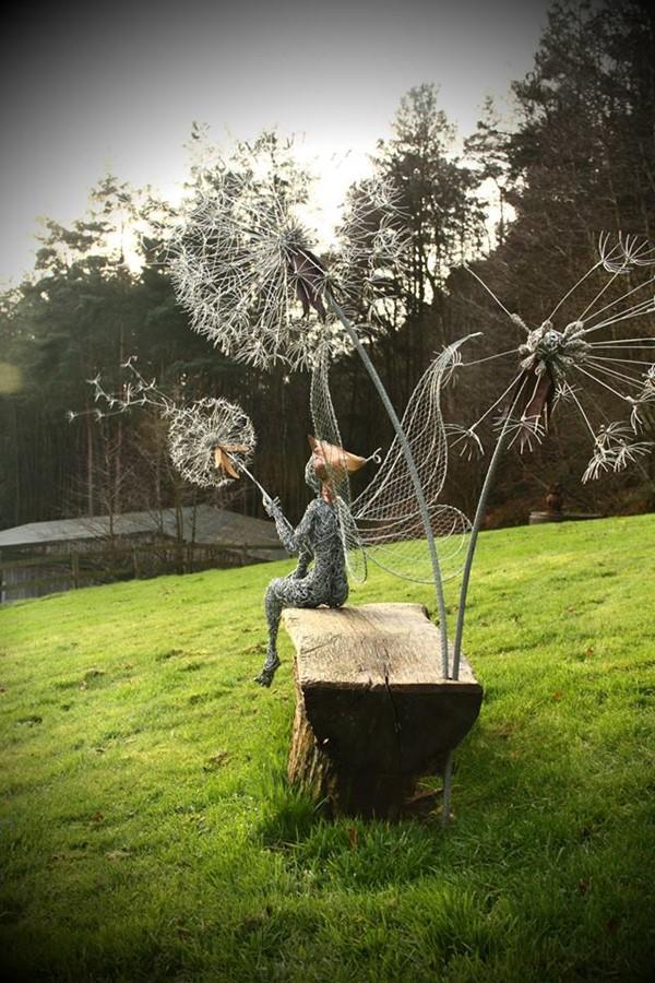 Wyjątkowe rzeźby ogrodowe