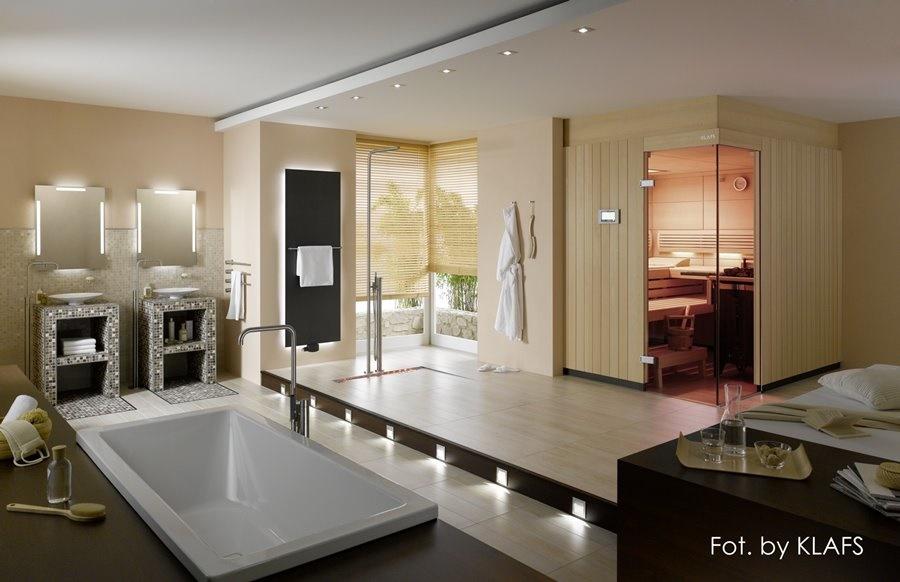 Spa w domu, z własną sauną. Tu: propozycja firmy Klafs