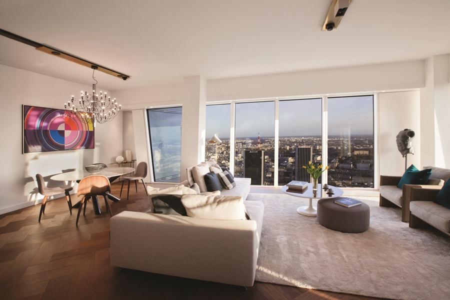 Złota 44 projektu Daniela Libeskinda, apartament