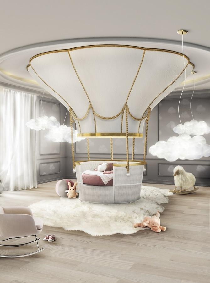 Balonowe łóżko dziecięce