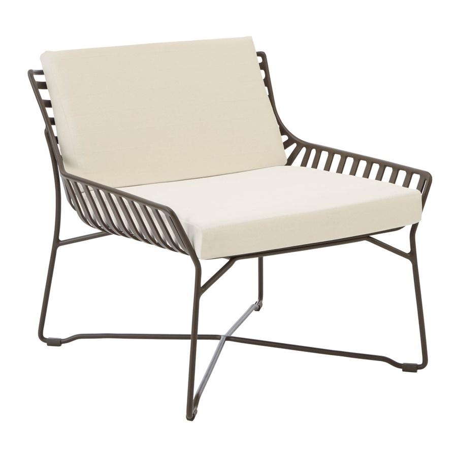 Aluminiowy fotel ogrodowy Garpa