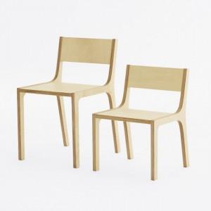 Krzesło ze sklejki Fam fara
