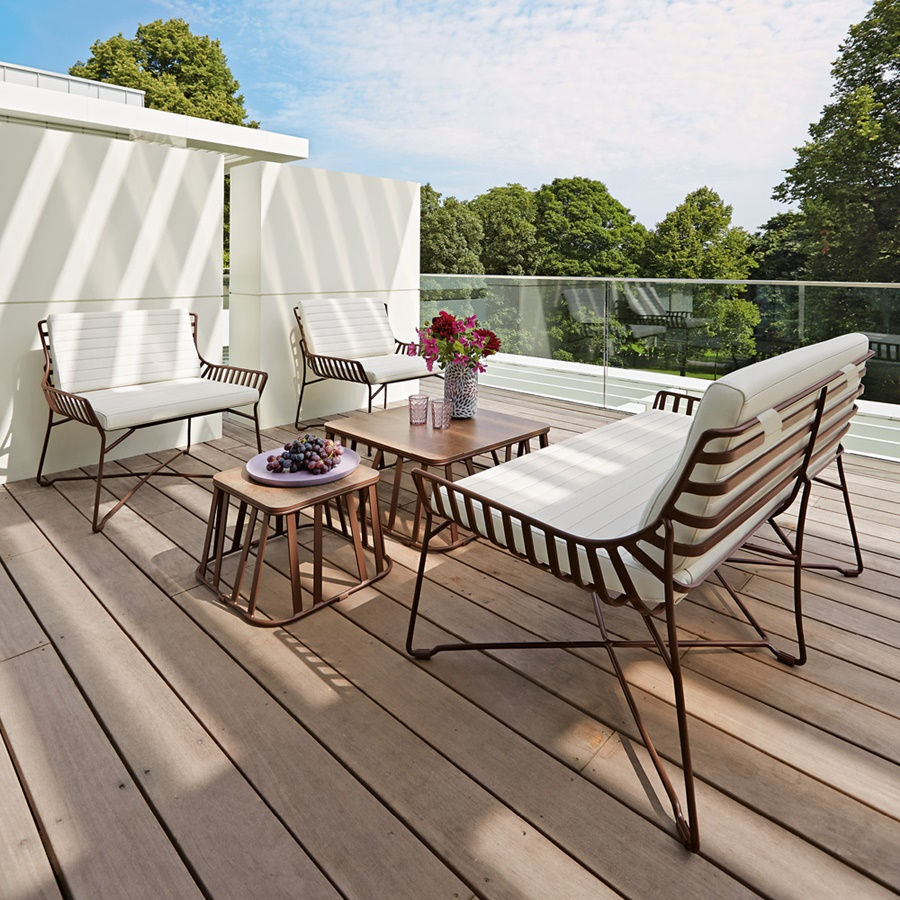 aluminiowe meble ogrodowe trwa e lekkie efektowne artyku y homesquare. Black Bedroom Furniture Sets. Home Design Ideas