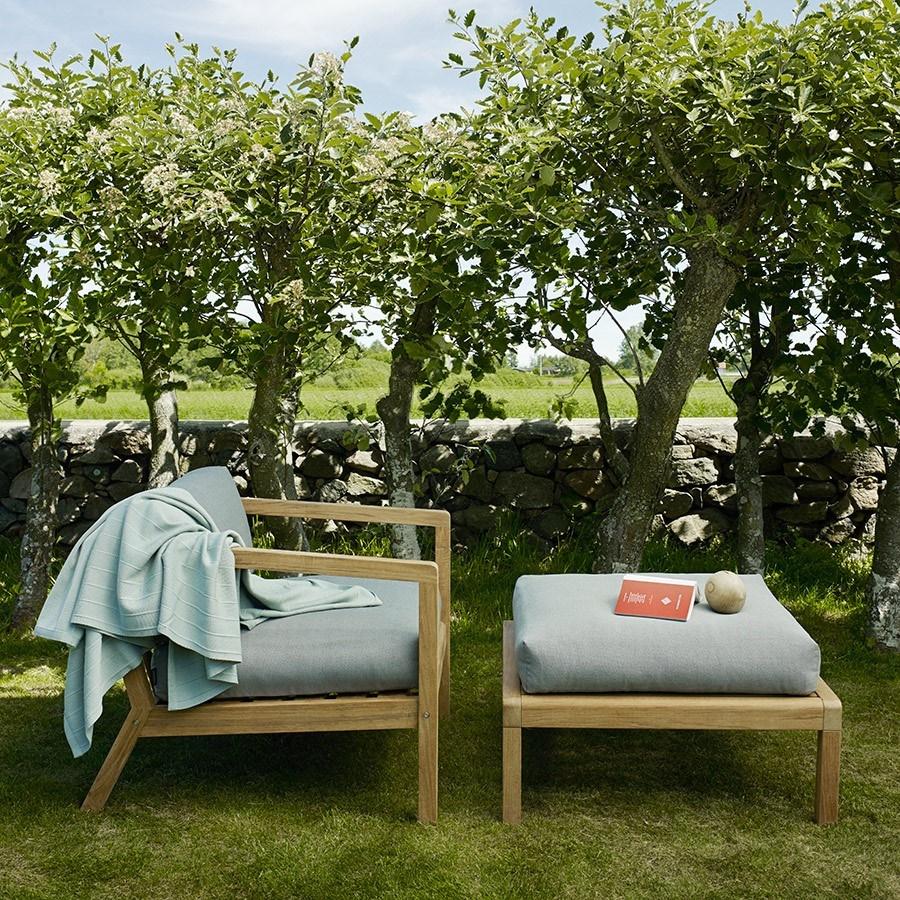 Designerskie meble ogrodowe z drewna
